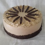 SIZE 30 CM KAHLUA COFFEE CAKE Coffee sponge with fresh cream filling and Kahlua liqueur.